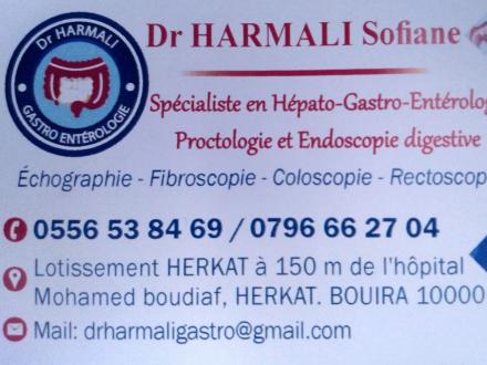Dr HARMALI sofiane