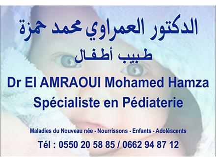 Dr. EL AMRAOUI MOHAMED HAMZA