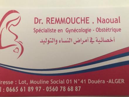 Dr Remmouche naoual gynécologue