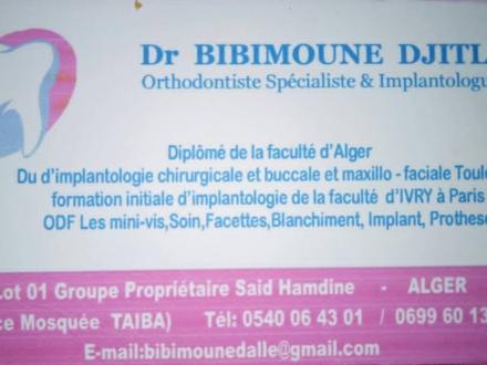 Dr. BIBIMOUNE DALLEL