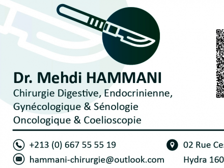 Dr HAMMANI M