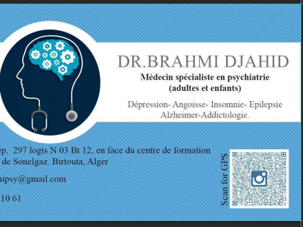 Dr BRAHMI Djahid Psychiatre