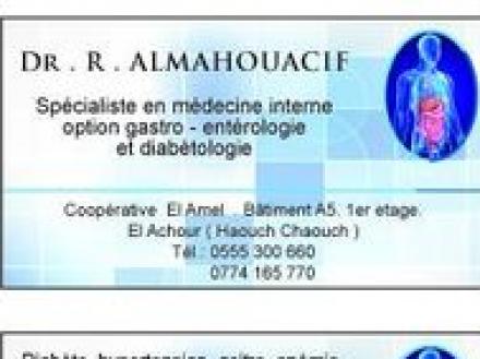 Dr almahouacif radia