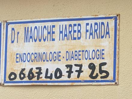 Dr maouche hareb farida