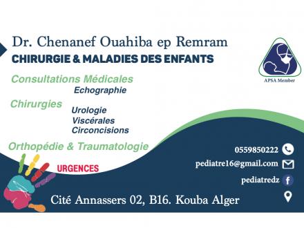 Dr Ouahiba Chenanef Remram