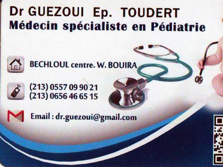Dr GUEZOUI